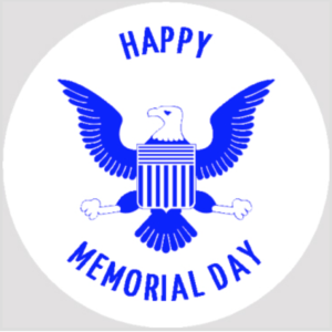 Memorial Day Rubber Stamps
