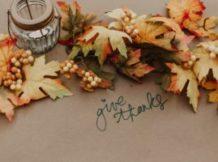 Thanksgiving Crafts and Rubber Stamp Station